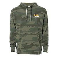Forest Camo Unisex Pullover Hooded Sweatshirt